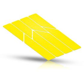 Riesel Design re:flex frame Reflektierende Aufkleber gelb